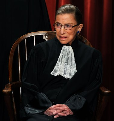 Ruth Bader Ginsburg will retire when the time is right... later