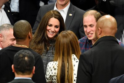 Prince William, Kate Middleton meet Beyonce, Jay Z at Nets-Cavs game