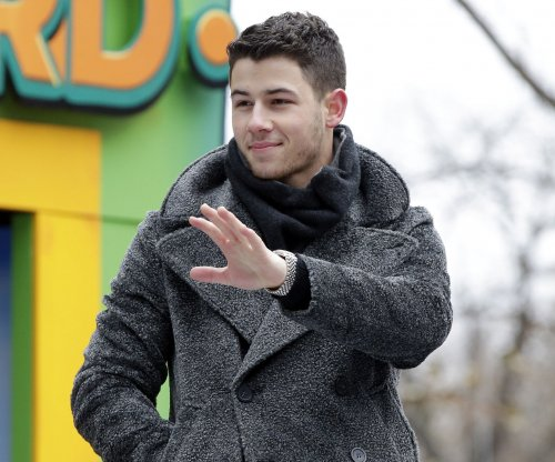 Nick Jonas plays on 'Big' FAO Schwarz piano