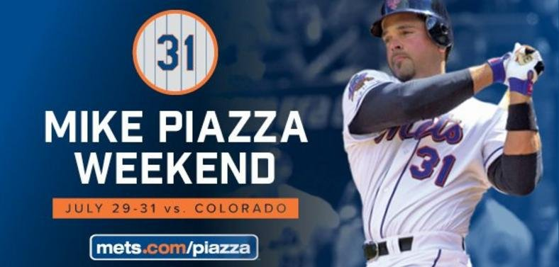 detailed pictures 851c1 26c7e New York Mets to retire Mike Piazza's No. 31 - UPI.com