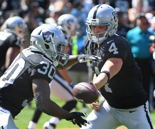 Oakland Raiders offense almost perfect in red zone