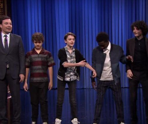 'Stranger Things' cast take part in Dance Battle with Jimmy Fallon