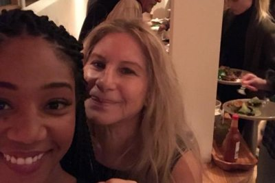 Tiffany Haddish shares selfie with Barbra Streisand, talks Cardi B