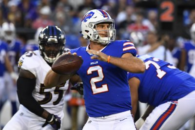 Buffalo Bills QBs AJ McCarron, Nathan Peterman return to practice