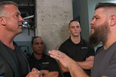 WWE Smackdown: Kevin Owens stuns Shane McMahon