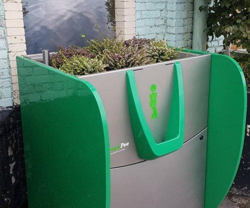 Netherlands fights 'wild peeing' with hemp-filled public urinals