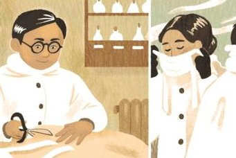 Google honors surgical mask maker Dr. Wu Lien-teh with a new Doodle