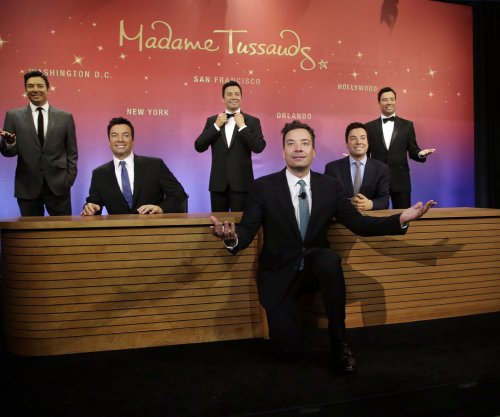 Jimmy Fallon statues unveiled by Madame Tussauds