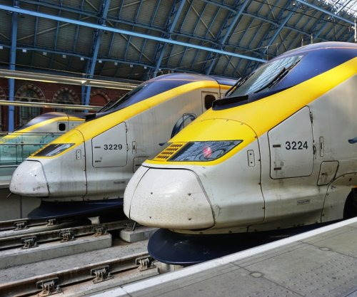 Immigrant dies jumping onto Channel Tunnel train bound for U.K.