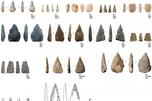 South African cave yields Middle Stone Age projectiles