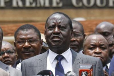 Kenyan opposition candidate Odinga drops out of presidential race