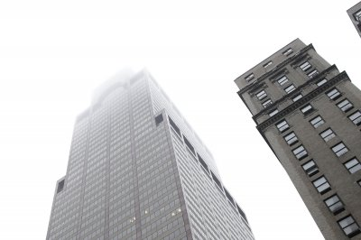 Helicopter makes crash landing on NYC building; 1 dead