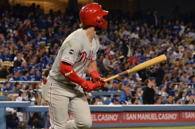 Phillies' Bryce Harper gets 15th homer, 4 RBIs vs. Marlins