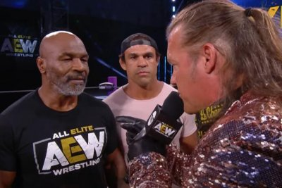 AEW Dynamite: Mike Tyson confronts Chris Jericho