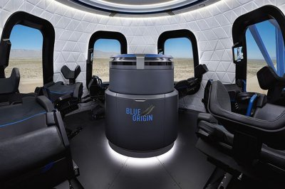 Blue Origin launches, recovers capsule with more space tourism amenities