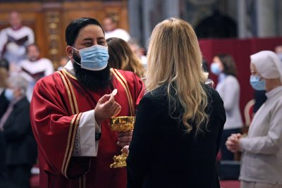 Controversy over communion in Catholic Church goes back 2,000 years