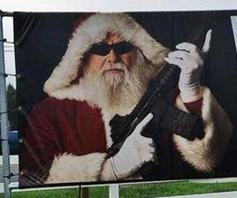 Gun range owner shoots down armed Santa criticism