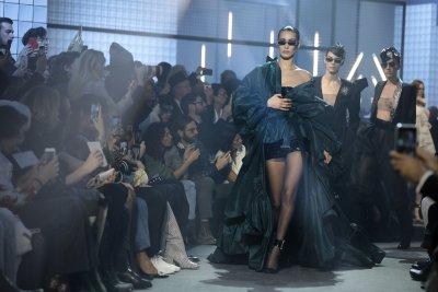 Bella Hadid handles nip slip at Couture Week in Paris