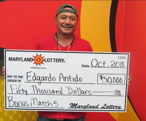 Man uses Philippines lottery numbers to win Maryland drawing