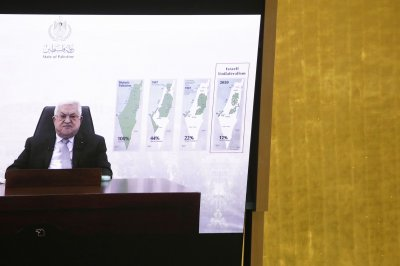 At U.N., Palestinian head Abbas demands end to Israeli 'apartheid' occupation