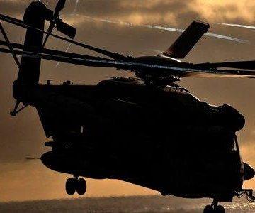Families confirm identities of Marines in helicopter crash
