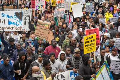 On This Day, April 25: Baltimore protests Freddie Gray's death thumbnail