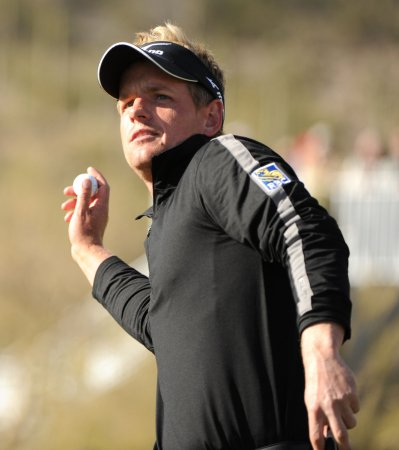 Luke Donald moves to No. 2 in rankings