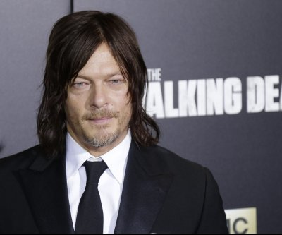 Norman Reedus, Andrew Lincoln attend 'Walking Dead' Season 6 premiere in NYC
