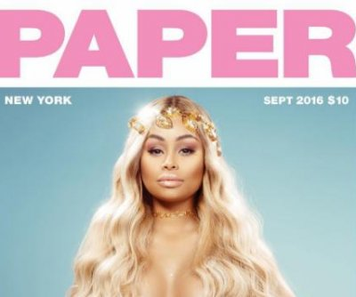 Pregnant Blac Chyna goes nude for Paper magazine
