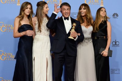 Sylvester Stallone's daughters named Miss Golden Globe trio