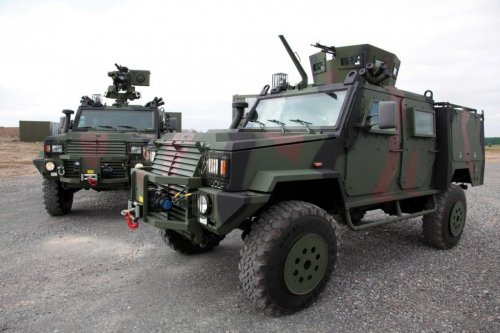 Denel to deliver armored vehicles to Namibia