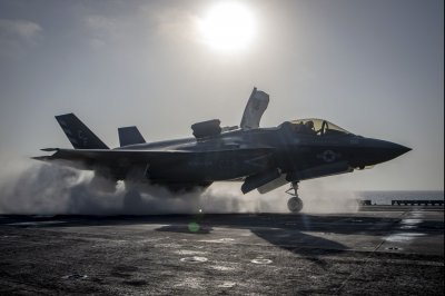 Marines send F-35B on first combat strike
