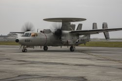 Navy aims to have early warning aircraft mission ready by Sept.