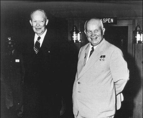 Khrushchev says relations are warming