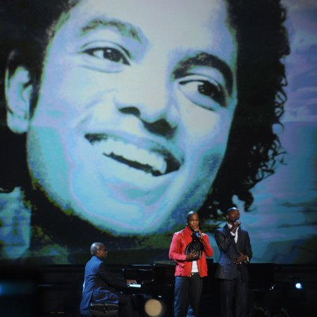 Jackson remembered at BET Awards