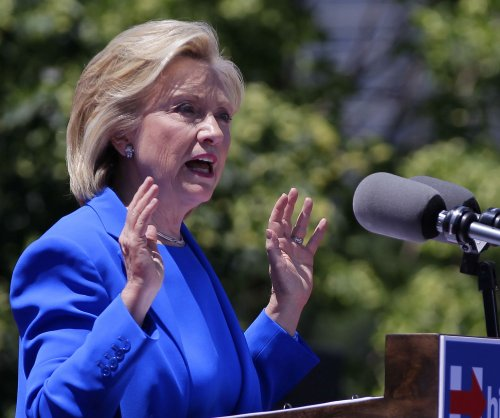 Hillary Clinton's playlist big on 'fight' songs