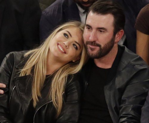 Kate Upton, boyfriend Justin Verlander spotted at Knicks game