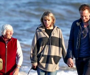 Taylor Swift meets Tom Hiddleston's mom in England