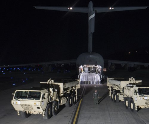U.S. military moves THAAD system to South Korea site overnight