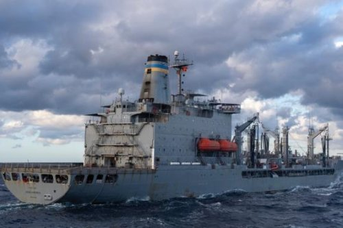 USNS Humphreys fleet replenishment oiler to enter drydock overhaul