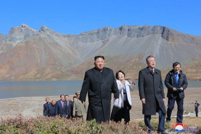 Transplanted fish 'alive and well' on Mount Paektu, North Korea says