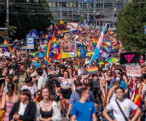 30,000 in Budapest, Hungary, celebrate Pride, protest anti-LGBTQ law