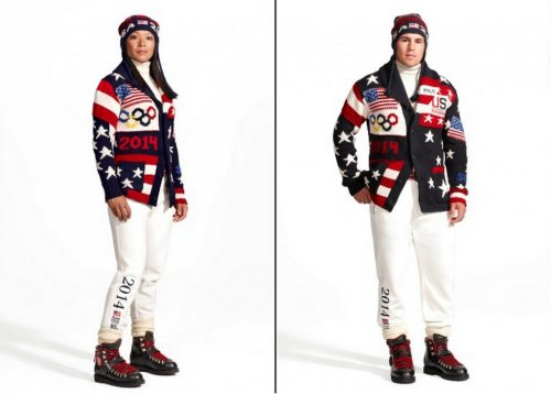 Winter Olympics: U.S. opening ceremony uniforms unveiled