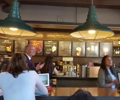 Rick Scott attacks woman who yelled at him in Starbucks