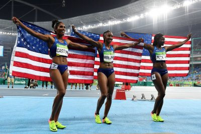 Rio Roundup: U.S. women sweep 100m hurdles, Jennings/Ross bring home bronze
