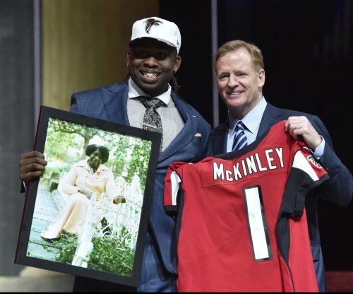 Atlanta Falcons rookie Takkarist McKinley to make debut Sunday