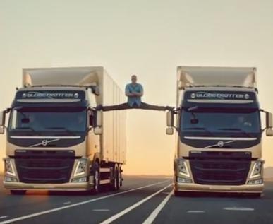 Jean-Claude Van Damme performs 'epic split' in Volvo ad [VIDEO]