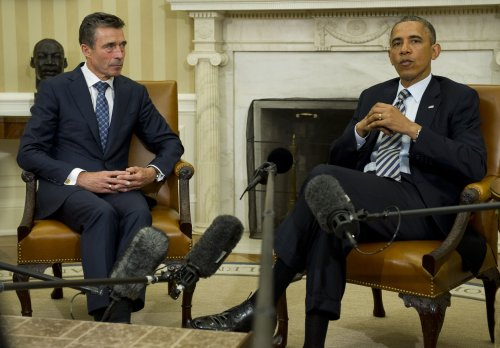 NATO Secretary General Anders Fogh Rasmussen to step down Sept. 30