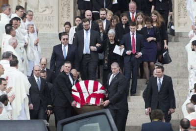Scalia funeral: Son eulogizes father as devout Catholic