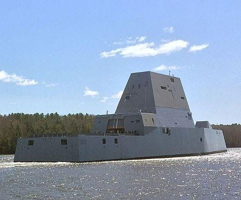 Milestone trials taking place for new U.S. Navy Zumwalt-class destroyer